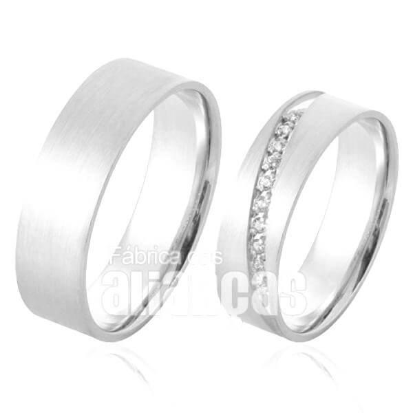 d62d99e4914 Alianças De namoro e compromisso em prata no Acre AC.