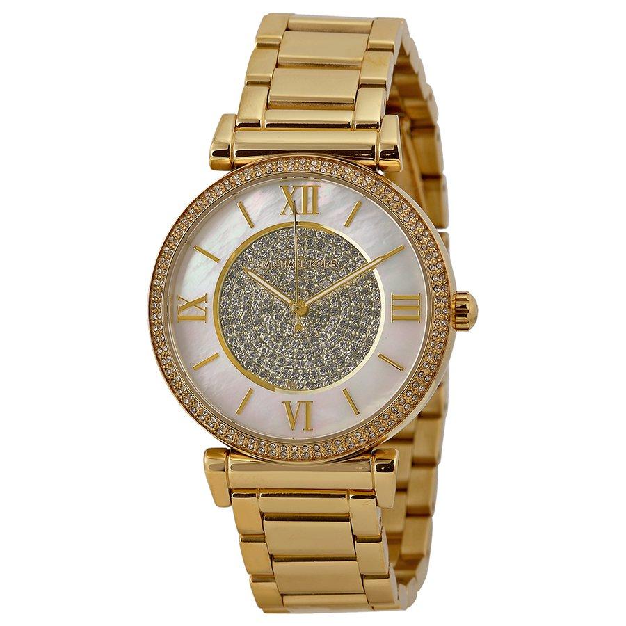 d93835b5edddb Relógio Michael Kors Feminino Catlin Mother Dourado MK3332-4KN - A.S.P LOJA