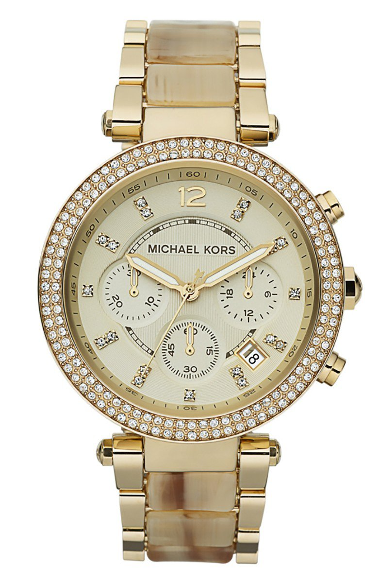 d508892ff3251 Relógio Michael Kors Parker Cronógrafo MK5632 4DN Champagne - A.S.P LOJA