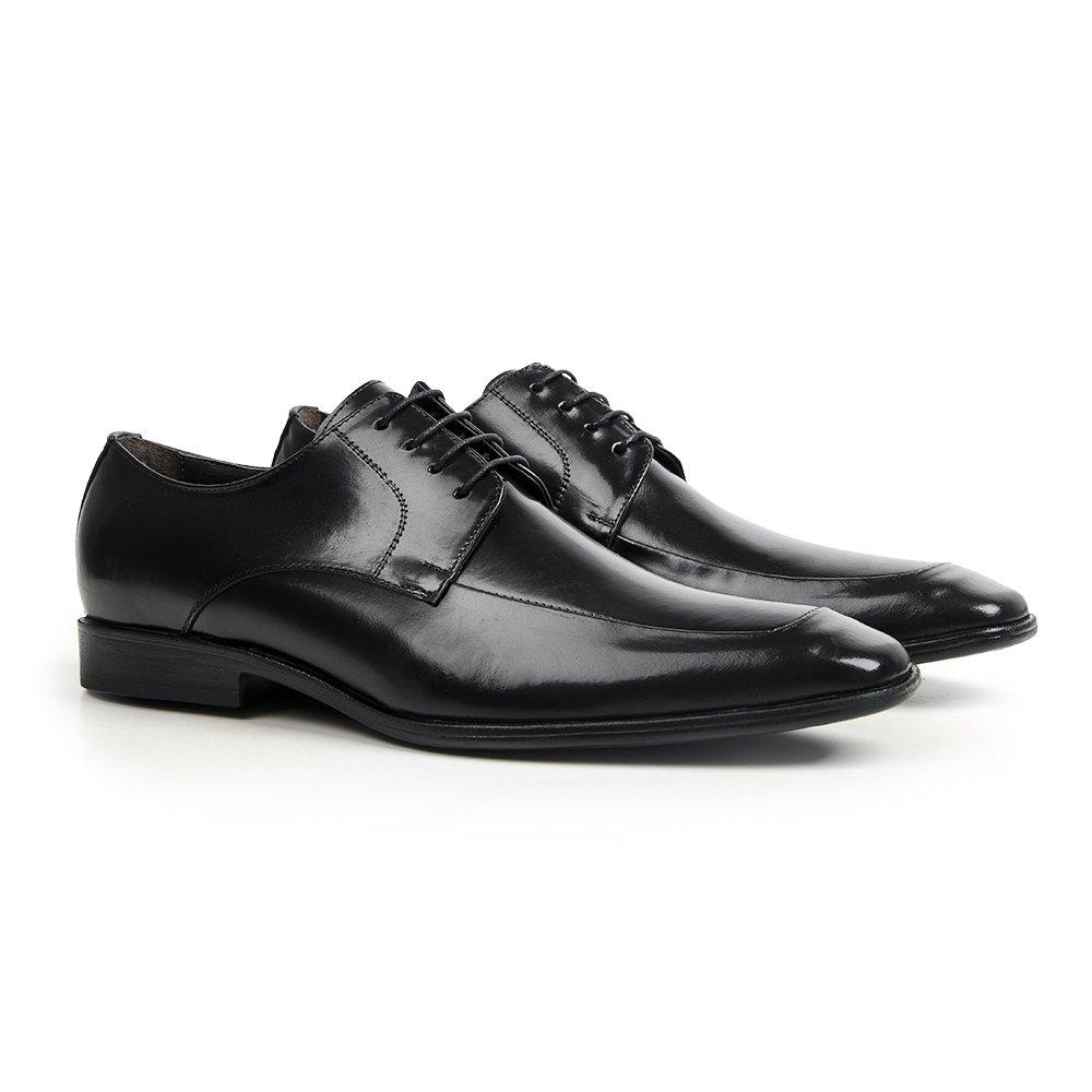 c1b985d78f Sapato Social em Couro Preto - Chelsea - CLUBE DO HOMEM Calçados e  Acessórios Masculino
