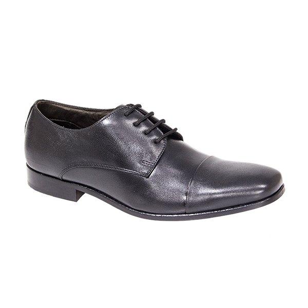 1851aa751 Sapato Social Masculino Di Ferutti Em Couro Preto | DI FERUTTI