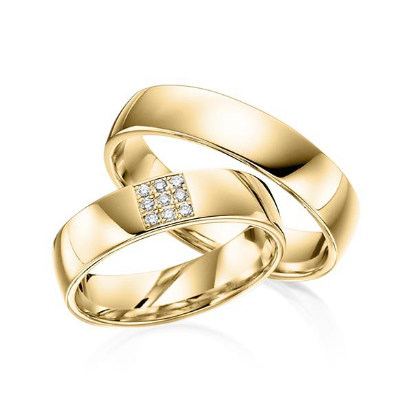 ce611ed565dc5 Alianças Osasco ♥ Casamento e Noivado em Ouro 18K   FABILE