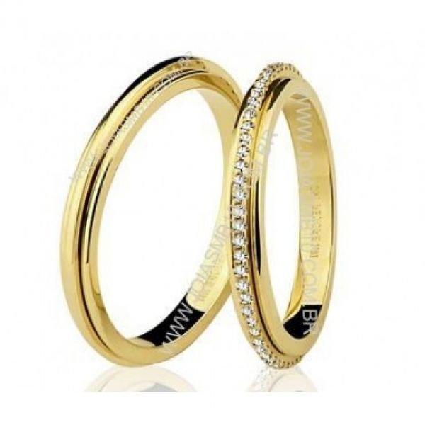 Alianças de Casamento - de Curitiba para o Brasil - Joias MB 66595fa5b1