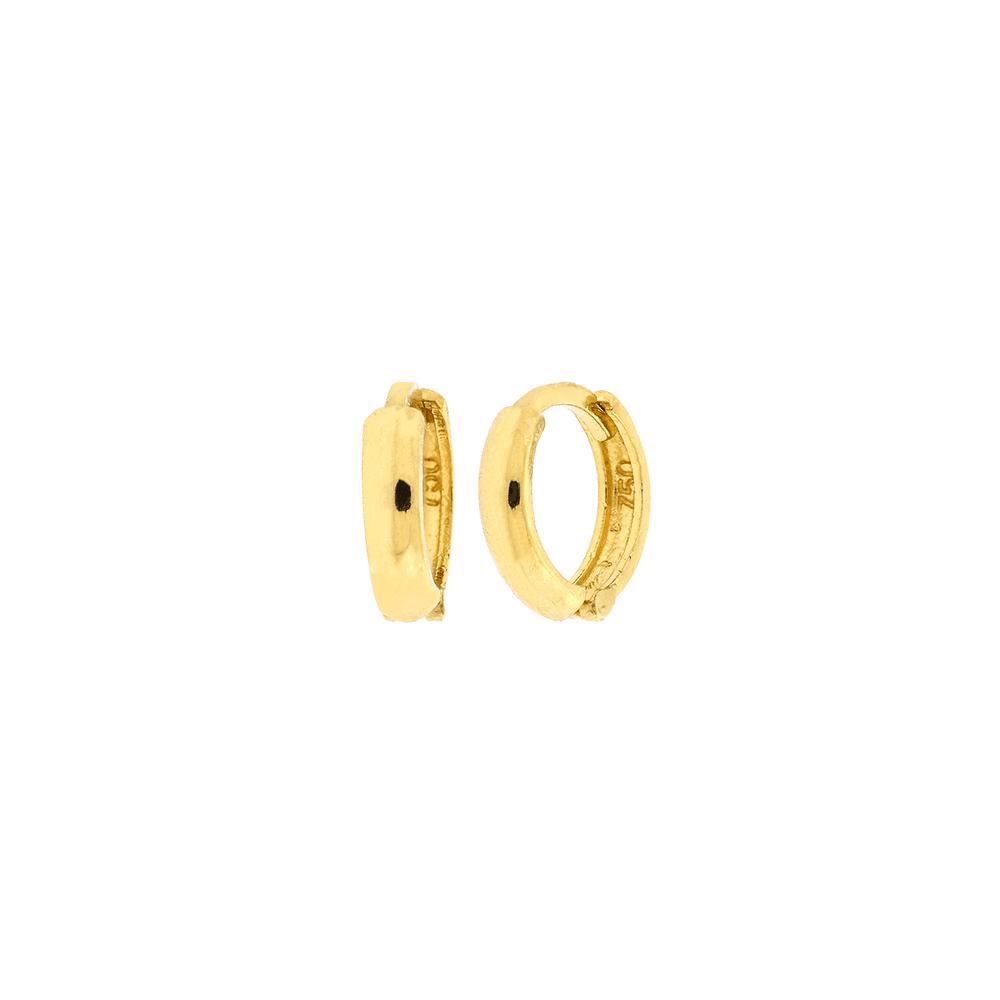 Brinco de Argola Ouro 18K Pequeno 9mm - MICHELETTI JOIAS 51937e410c