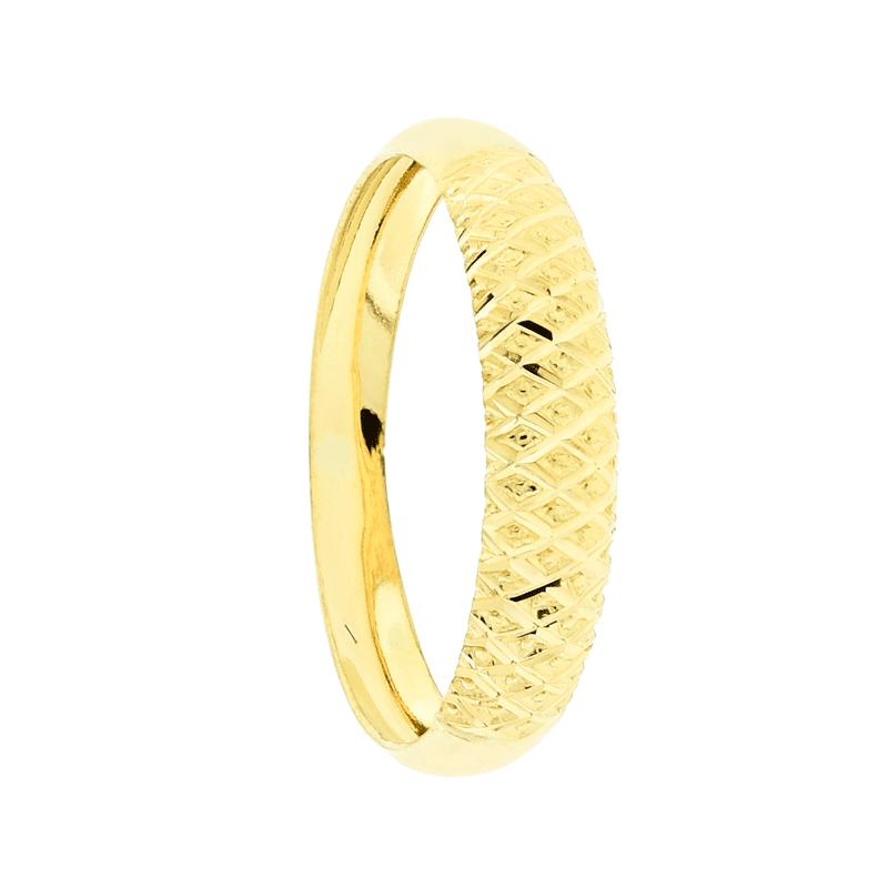 358007af64577 Francine Jóias Anel Solitário Em Ouro Amarelo 18k Com Diamantes Brüner