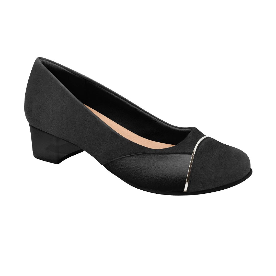 fa9c8e1ac3 Sapato Social Feminino para Joanete - Preto