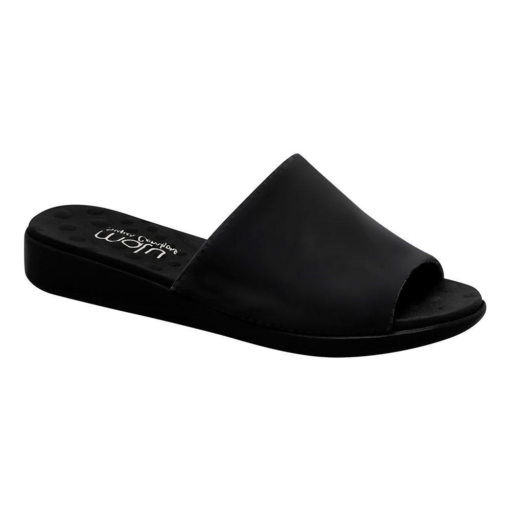 68f550500 Tamanco Feminino Ortopédico - Preto | Pé Relax Sapatos Confortáveis