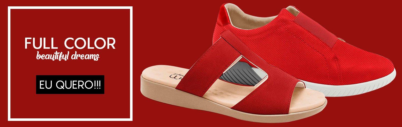 Calçados Vermelho