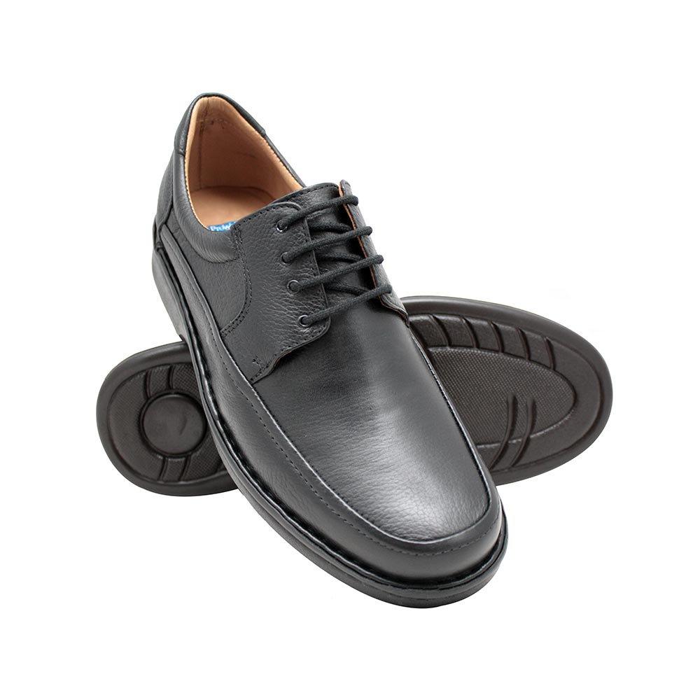 d62884e96 Sapato Masculino Tamanho Grande- Preto | Pé Relax Sapatos Confortáveis