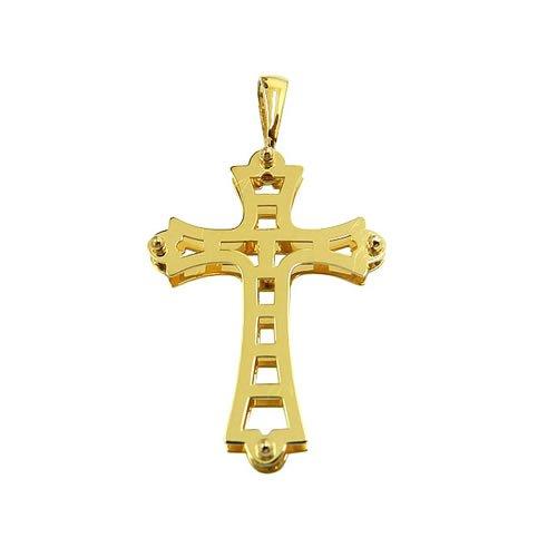 12ec1f8f8e060 Pingente Cruz em Ouro 18k   RDJ JÓIAS