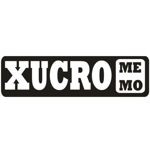 Adesivo Xucro Memo (Preto)  94fa69b4144