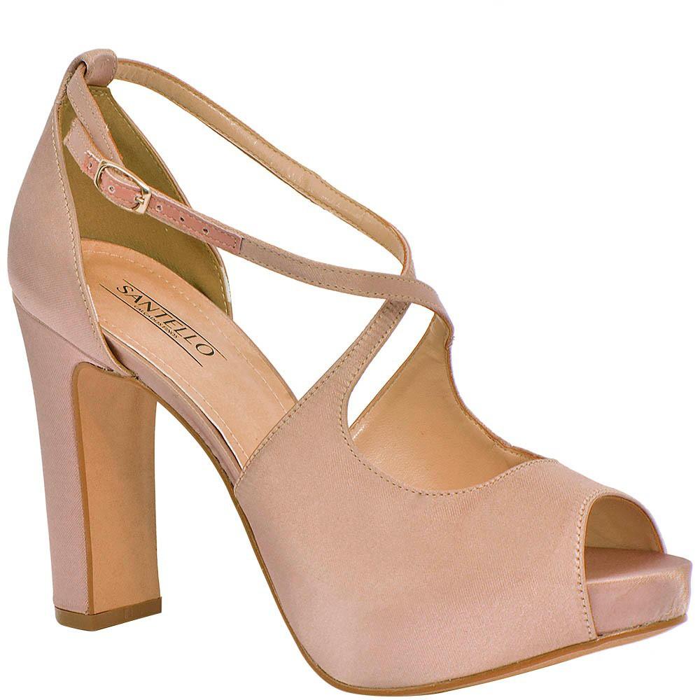 Sandália salto grosso. | Sapatos, Sapatos femininos