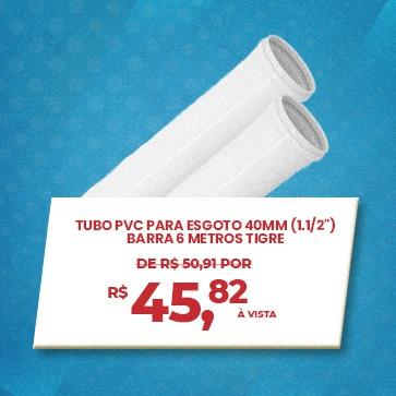 Tubo PVC 40mm