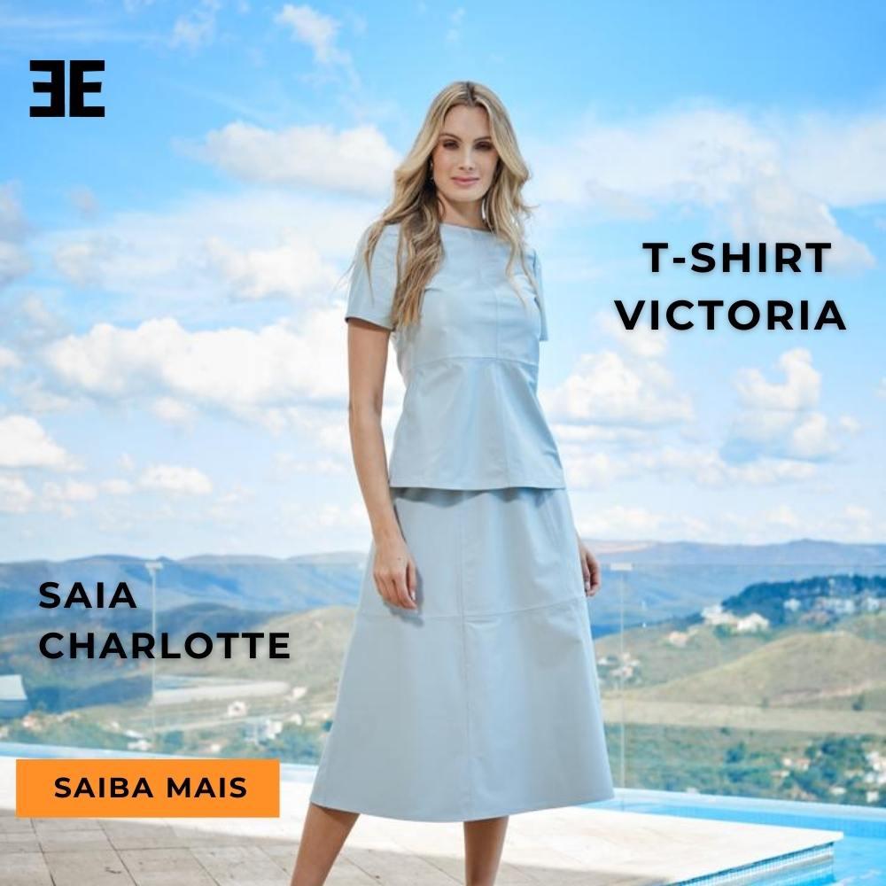 T-Shirt de Couro Victoria