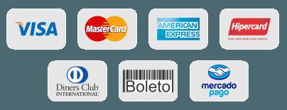 Mais formas de pagamento
