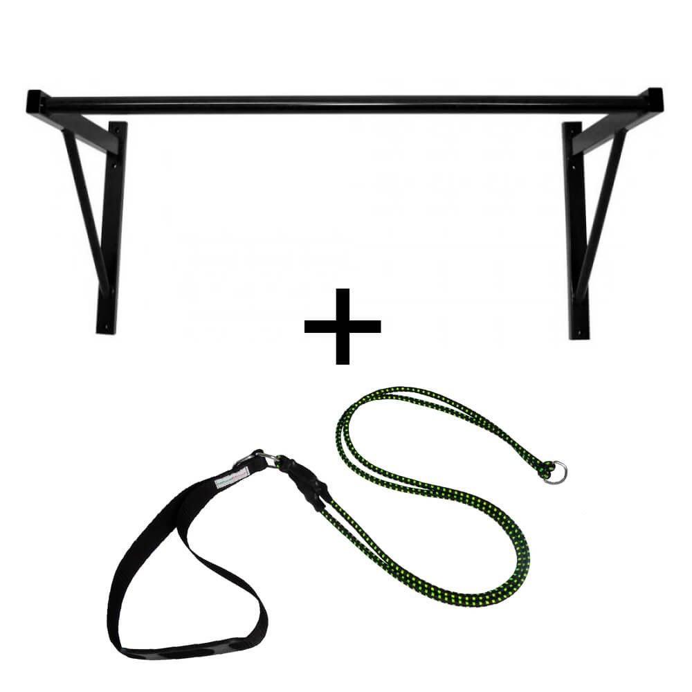 Kit Barra Fixa Para Parede + Extensor Barra Fixa