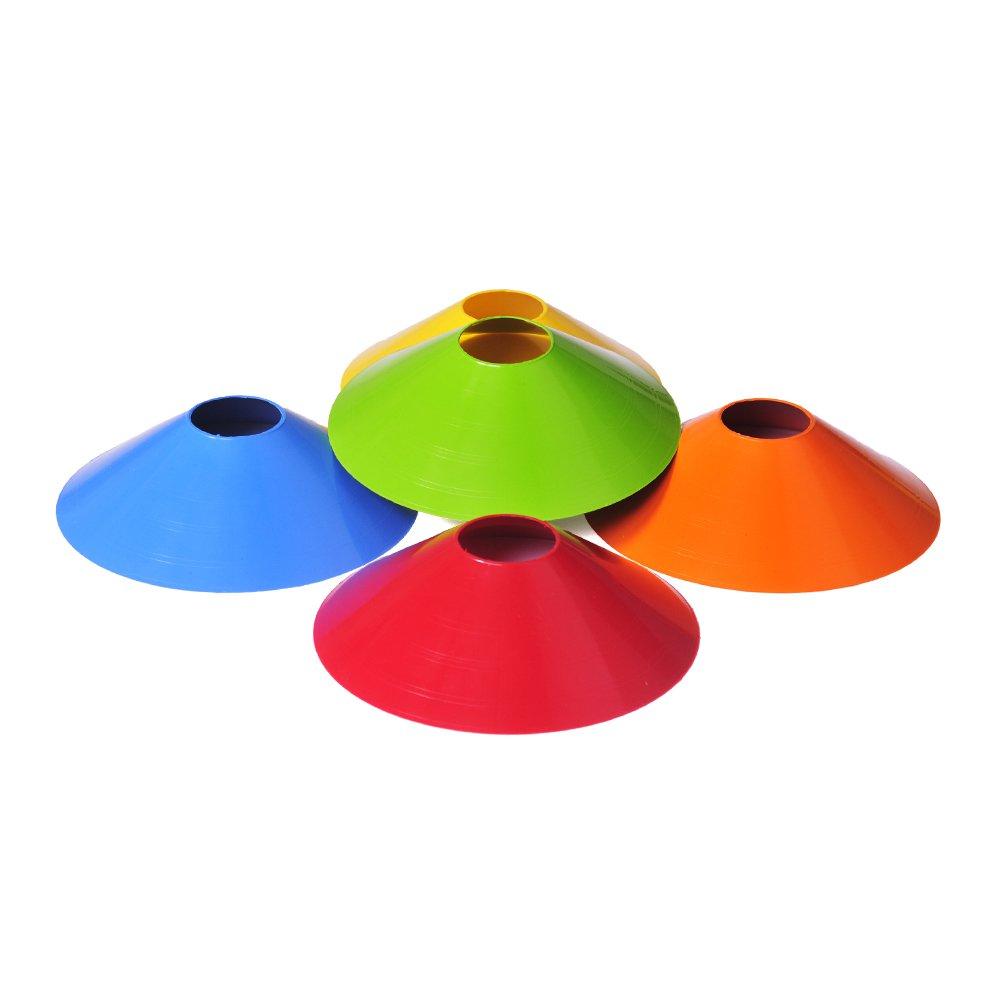 Chapeu Chines Coloridos- Mini Cone para Treino Funcional