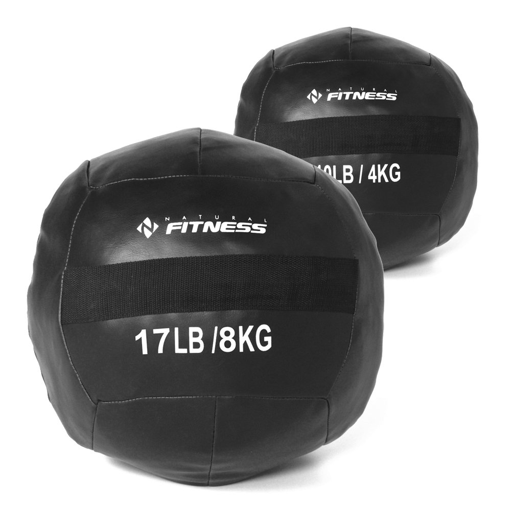 Kit Wall Ball 4kg - 8kg Natural Fitness