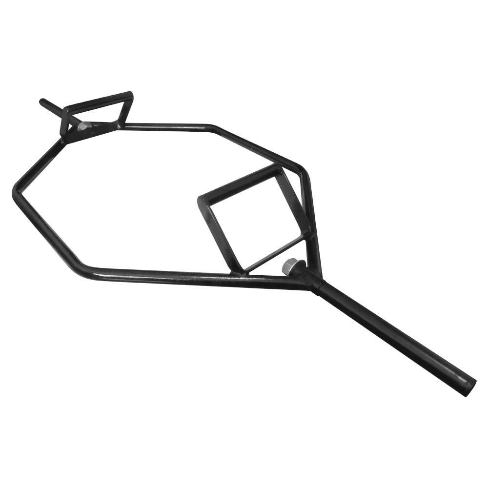Barra Hexagonal Musculação Ponteira Convencional