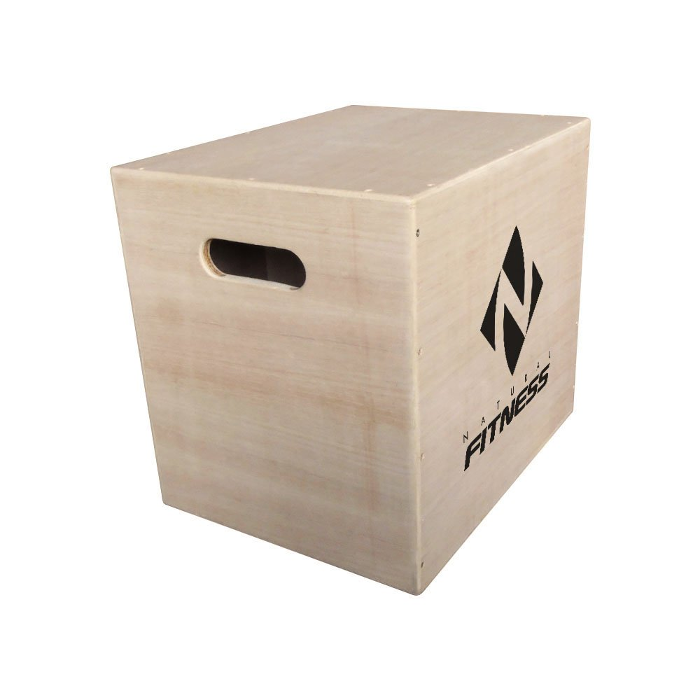 Caixa De Salto Plyobox Madeira 40x35x44