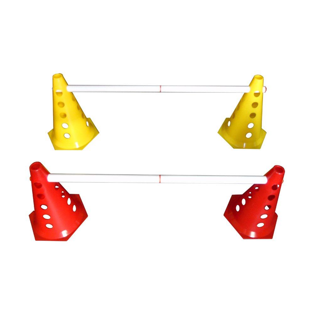 Kit Funcional Treinamento Agilidade - 8 Cones + 4 Barreiras