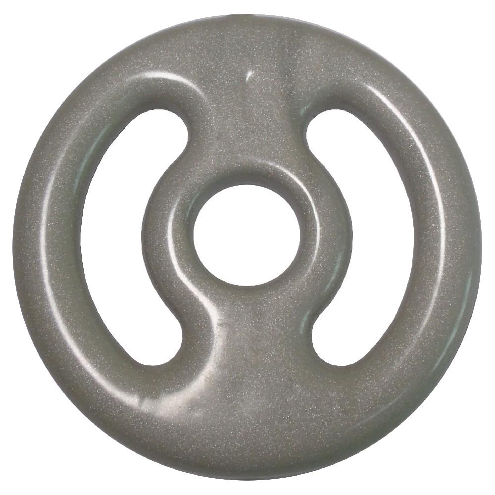 Anilha de Ferro Emborrachada 1kg Revestida