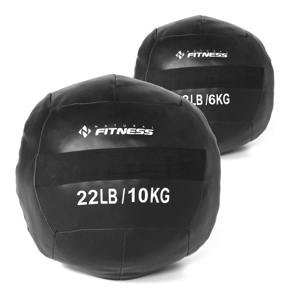 Kit Wall Ball 6kg - 10kg Natural Fitness