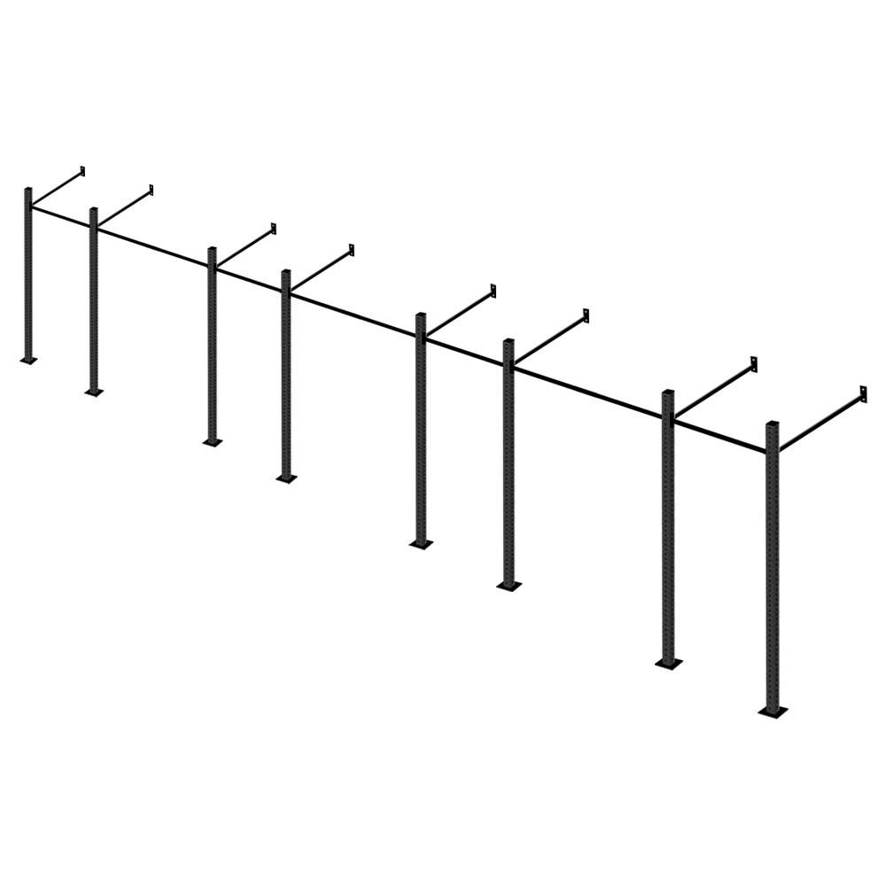 Gaiola Para Treinamento Funcional Box Crossfit 7 Módulos