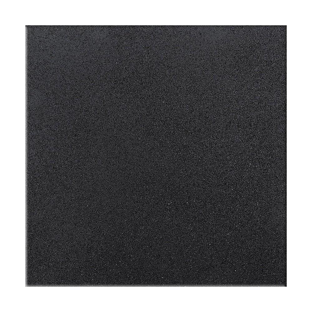 Piso De Borracha Para Academia De Crossfit e Funcional Preto 100x100 15mm