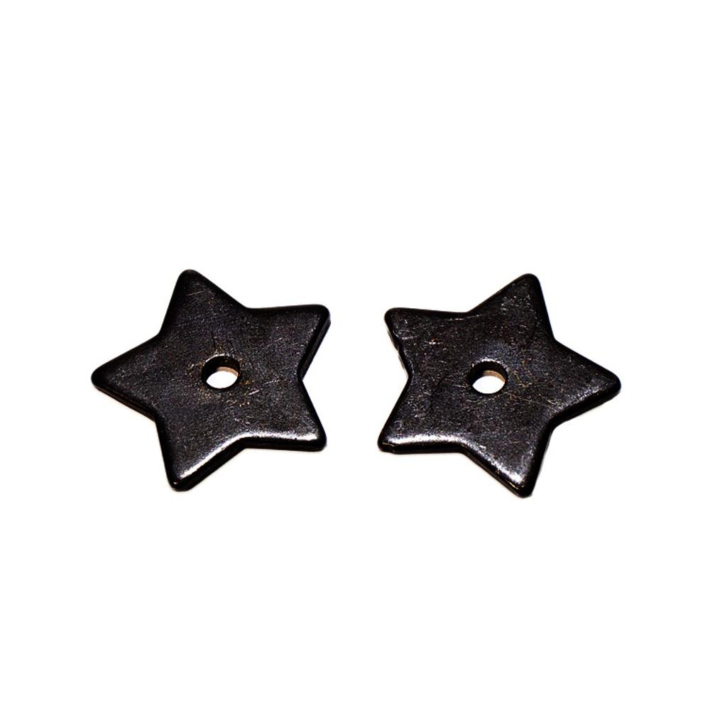 Roseta p/ Espora 5 Pontas Ferro Importada - Black Steel - 18b