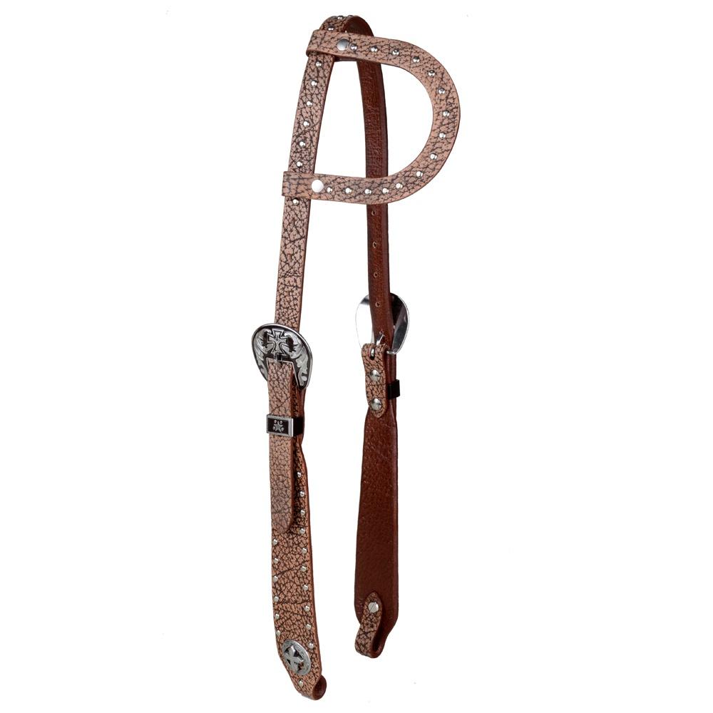 Cabeçada Boots horse 1 orelha c/ Fivela Importada 5653CR