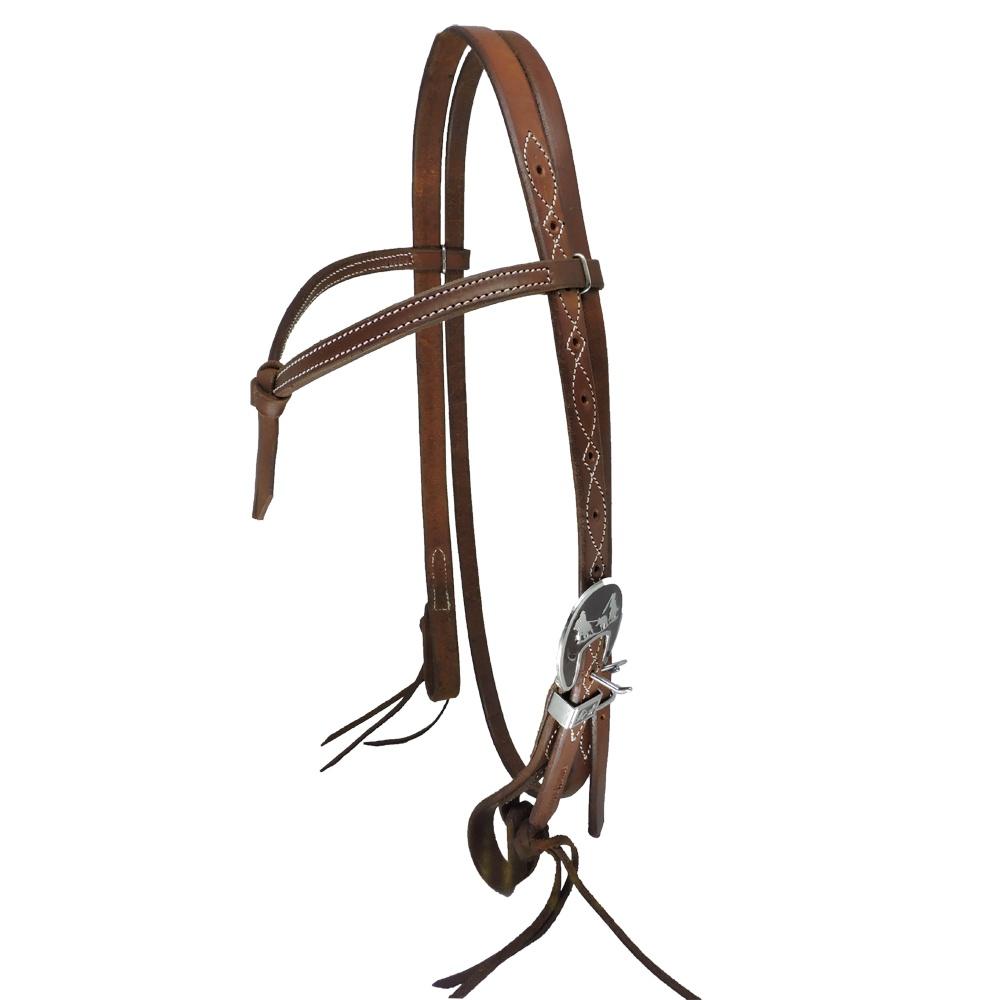 Cabeçada Boots horse c/ testeira fivela importada Team Roping