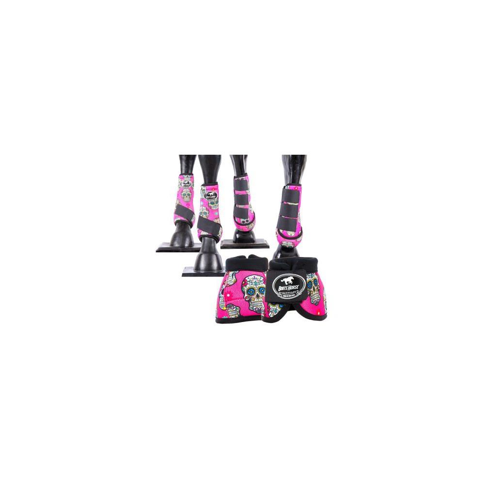 Kit Proteção Completo estampa 15 - Boots Horse