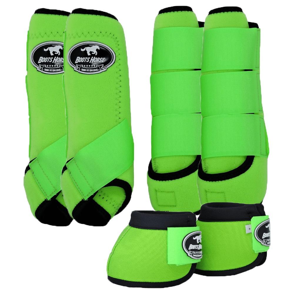 Kit Proteção Verde Limão Completo - Boots Horse