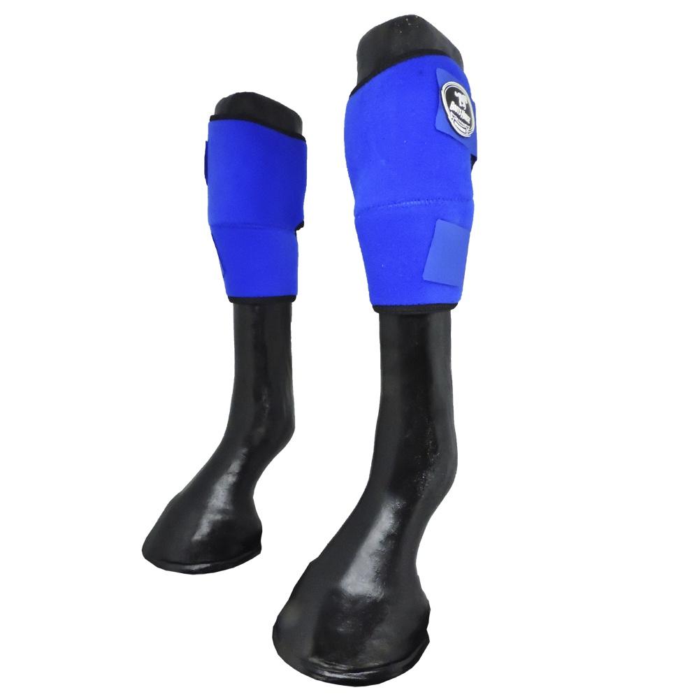 Joelheira Boots Horse Azul