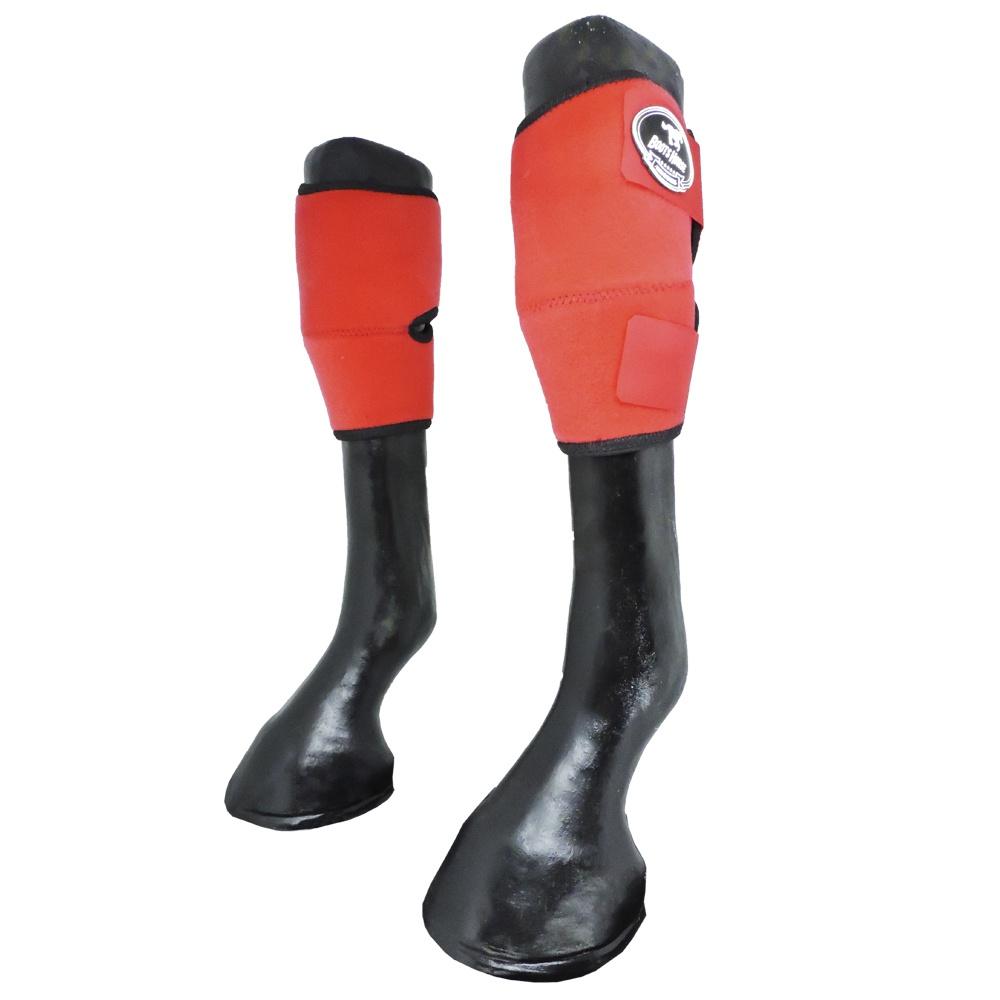 Joelheira Boots Horse Vermelha