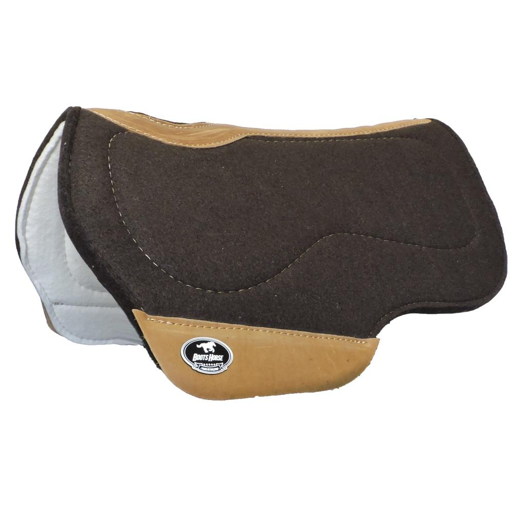 Manta Boots Horse Flex Chip Couro Marrom 129202