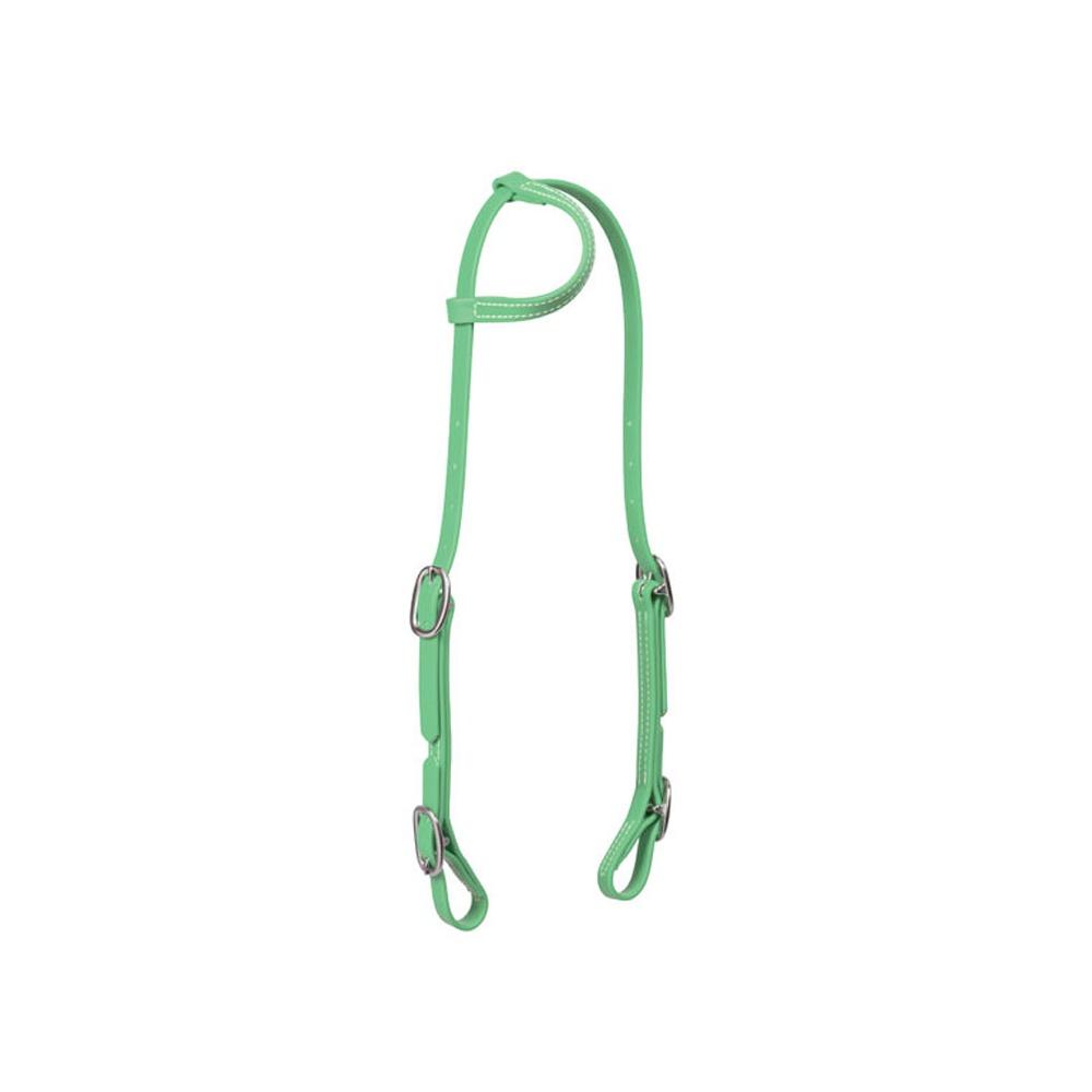 Cabeçada Verde Limão de silicone importada - Weaver