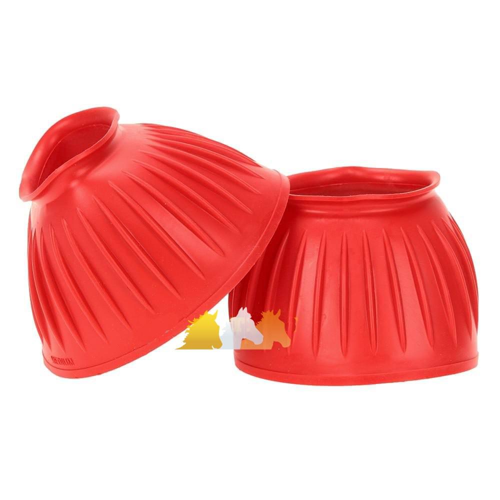 Cloche Canelado de Borracha Vermelho - Instep