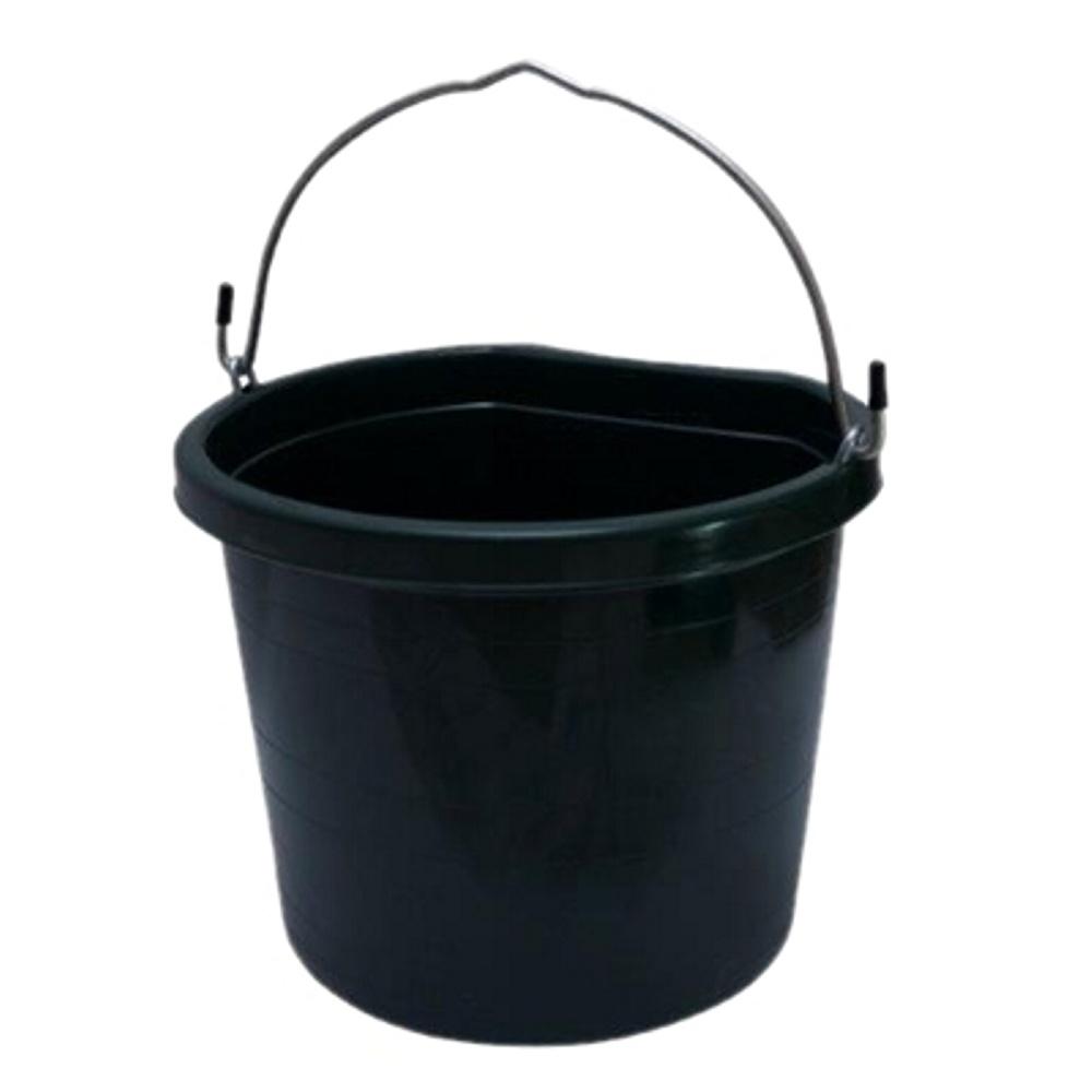 Balde 12 litros Verde Escuro com Alça - Importado