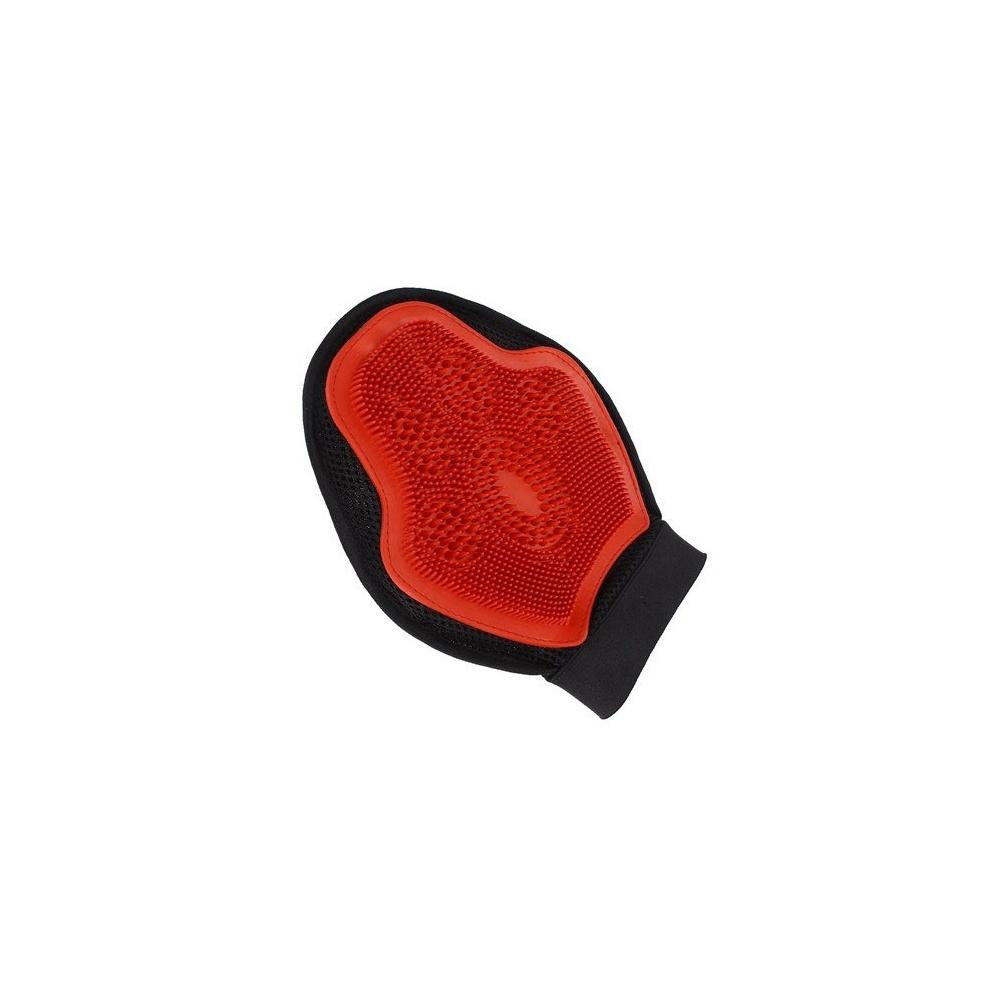 Luva para Banho e Massagem Vermelha Importada - Partrade