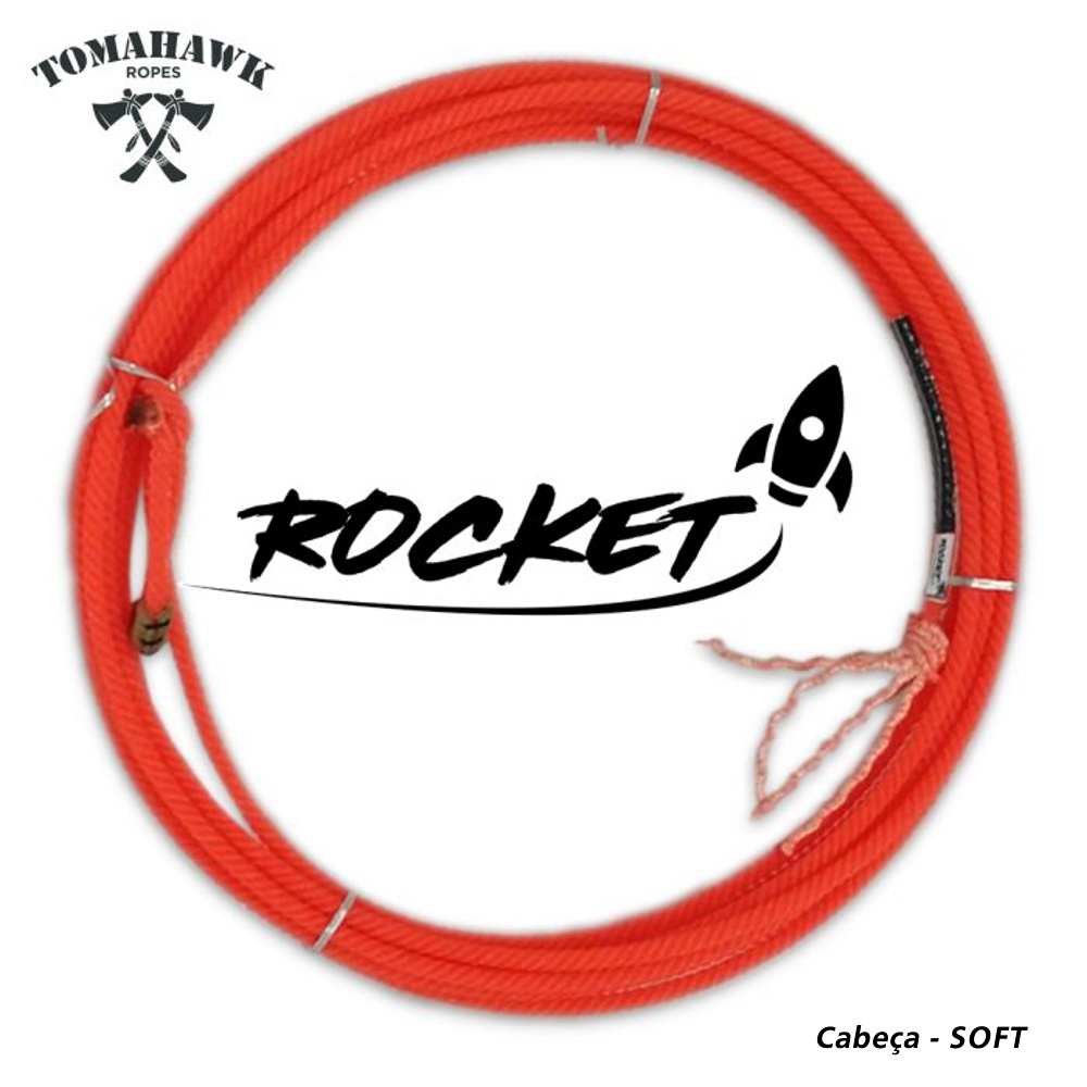 Corda Tomahawk 4 Tentos Laço Cabeça - SOFT ROCKET
