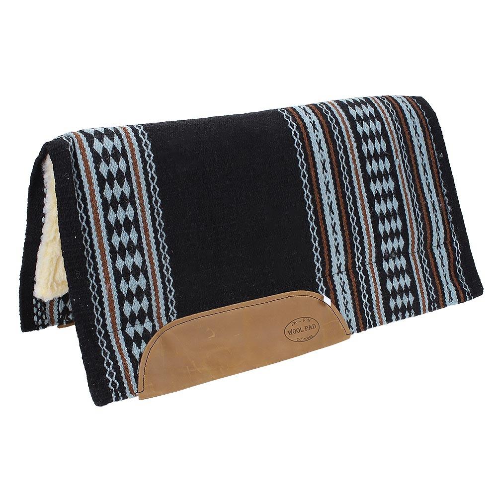 Manta importada 100% Lã c/ Pelúcia na Parte Interna - Mustang