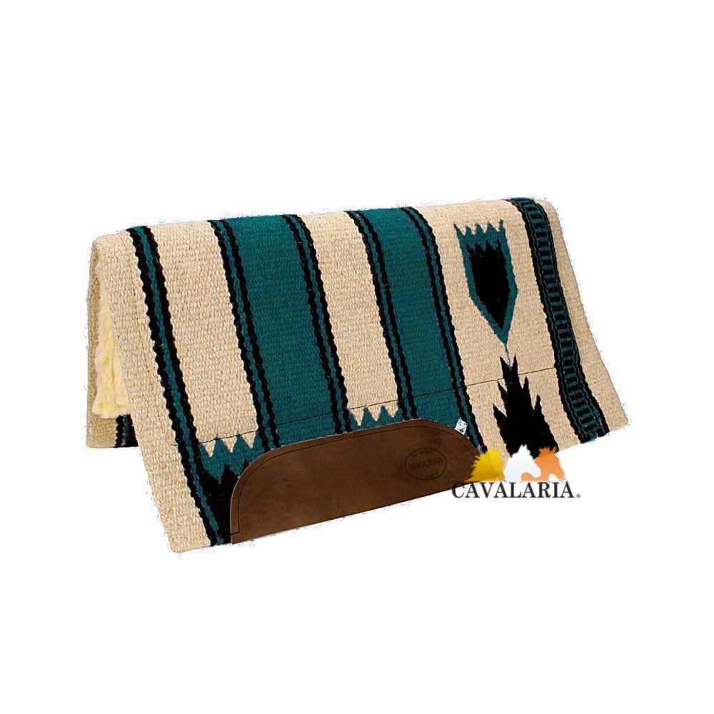 Manta importada 100% Lã c/ feltro na Parte Interna - Mustang