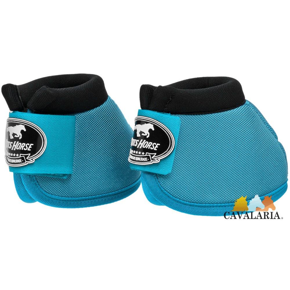 Cloche em Neoprene Azul Turquesa - Boots Horse