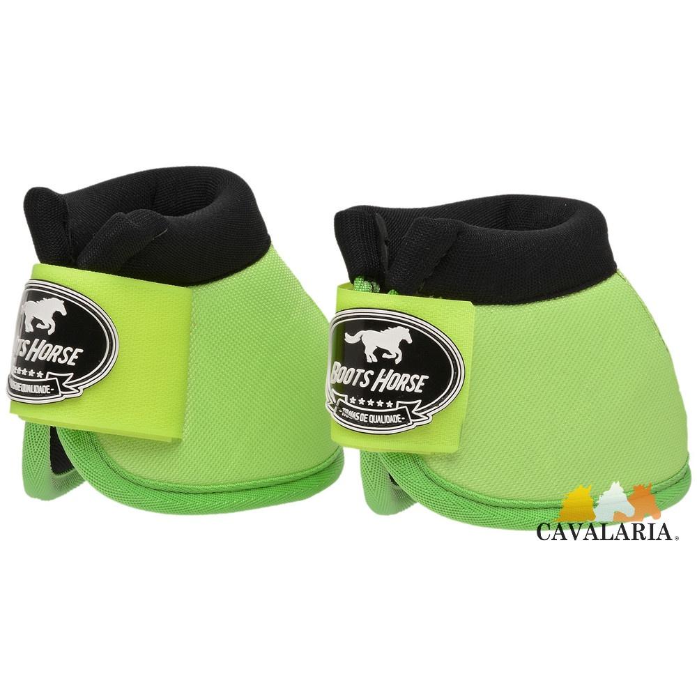 Cloche em Neoprene Verde Limão - Boots Horse