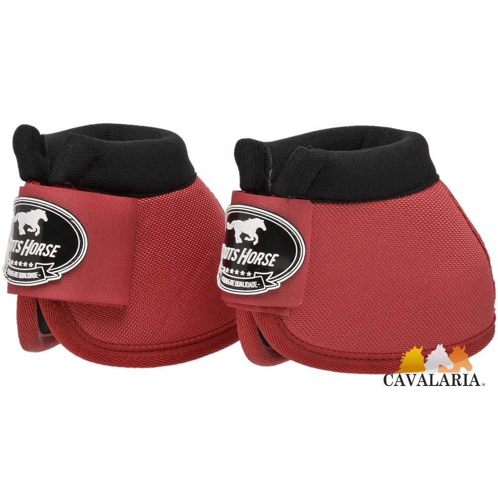 Cloche em Neoprene Vermelho - Boots Horse