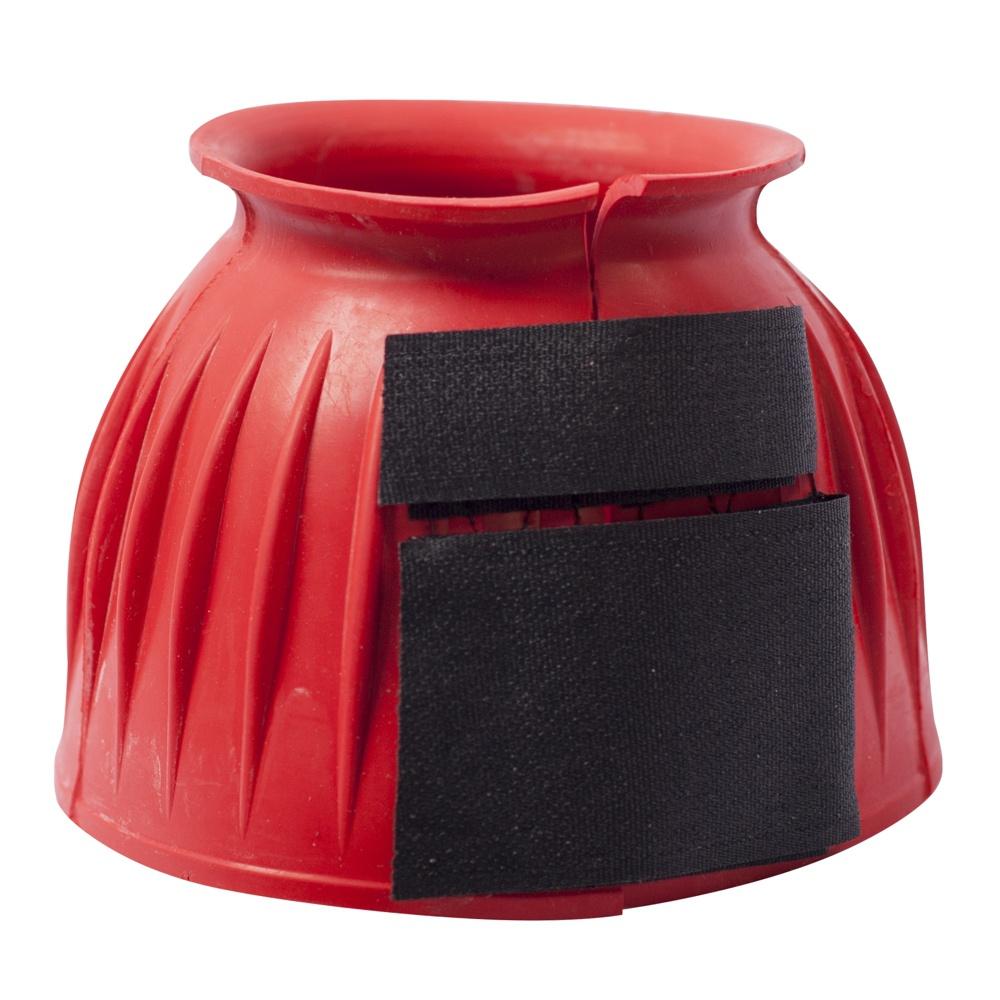 Cloche Canelado de Borracha Vermelho c/ Velcro - Instep