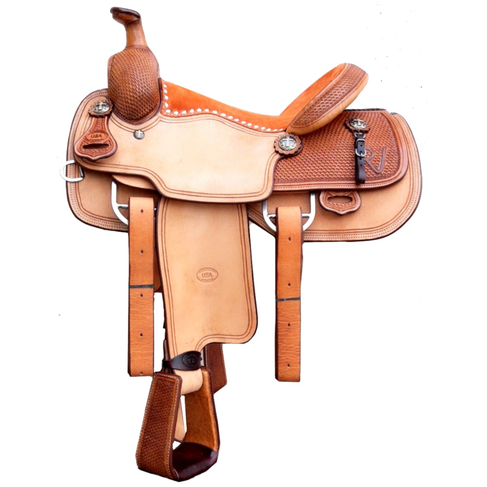 Sela Artesanal para Team Roping - Pro Horse PH1001