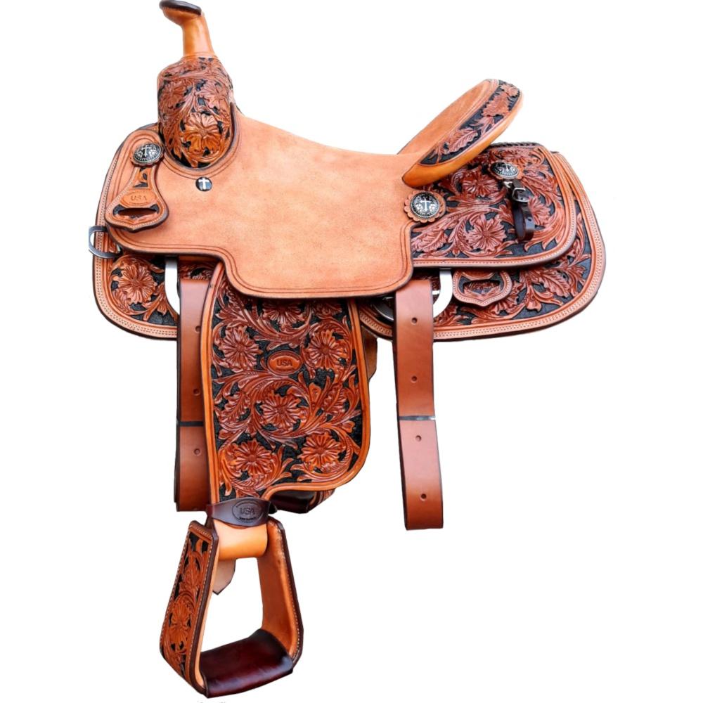 Sela Artesanal para Team Roping - Pro Horse PH1006